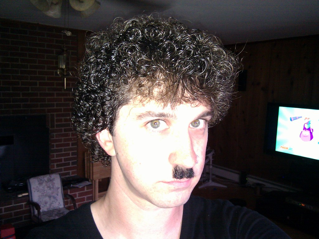 Image result for man with perm