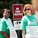 Red Cross Workers Strike