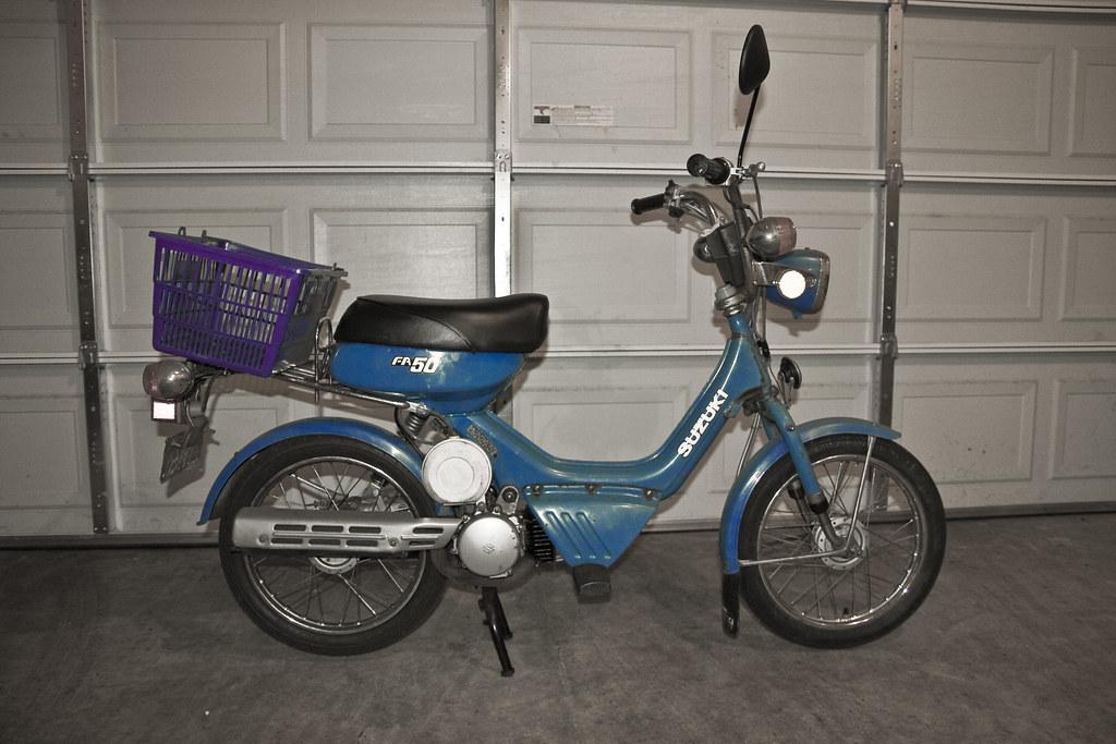 1985 50cc Suzuki FA50 | Just picked this up off Craigslist ...