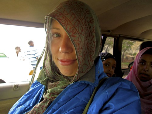 amy in somaliland | by The MapMakers - Mike