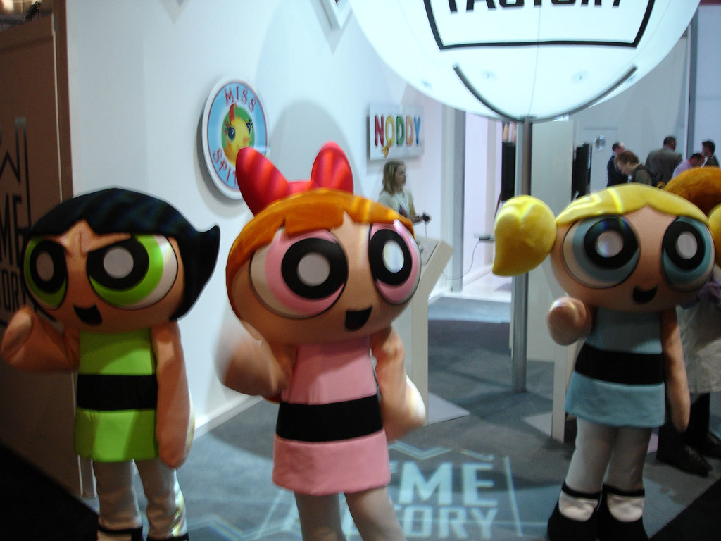 E3 2006 Powerpuff Girls Costumes  The Conmunity - Pop -1828