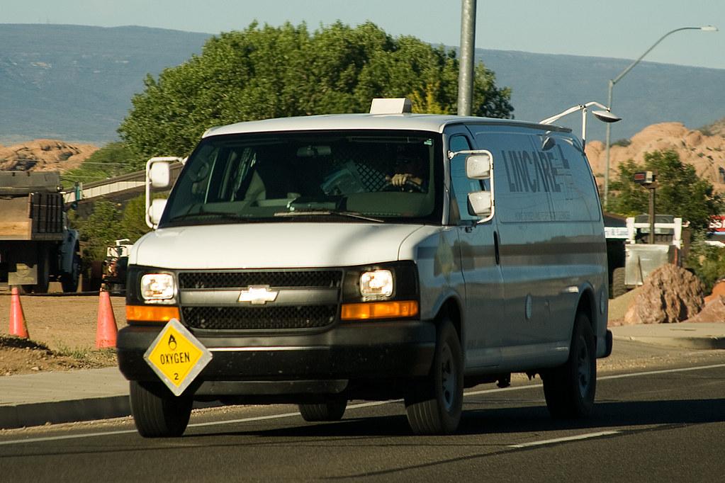 Lincare Van Chevrolet Express 3500 Of Lincare Felipe G