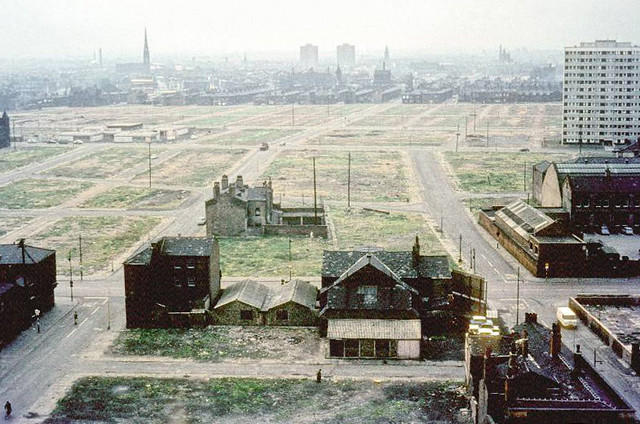 View of Hulme, mid 1960s