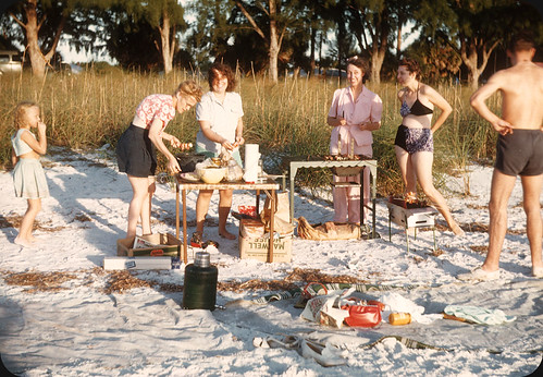 Beach Party, St. Pete Beach, FL – 1948 | by ElectroSpark