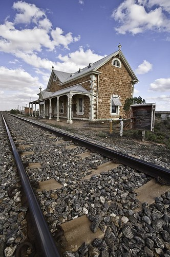 Manna Hill South Australia Train Station | by noompty