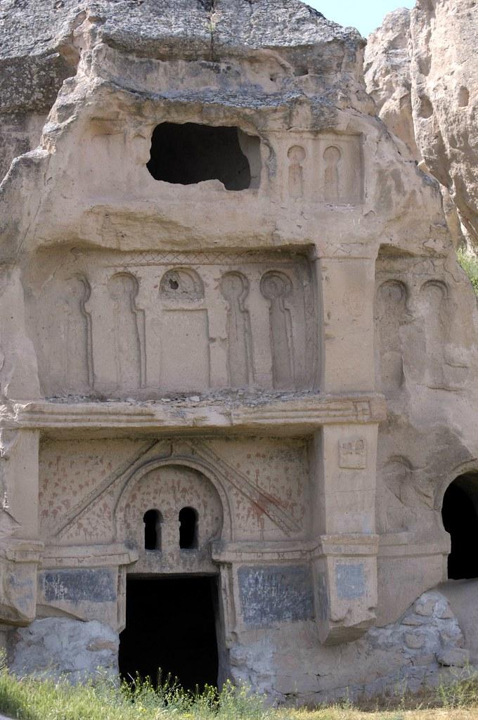 Cave Church Cappadocia Turkey Early Christian Cave