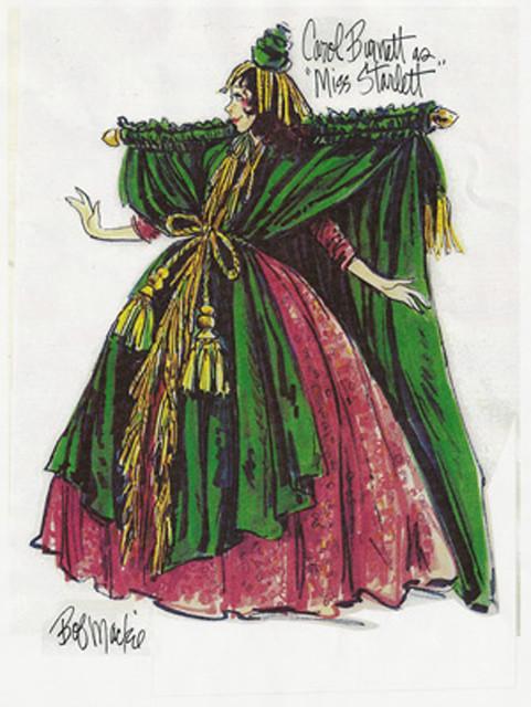 Carol Burnett S Went With The Wind Costume Designer