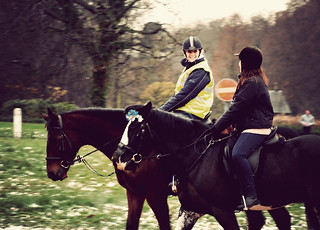 Horse Riding in Hyde Park, Christmas 2009 | by Little Miss Click