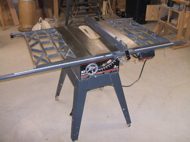 Tablesaw Sears Craftsman Contractor Series 10 Inch Belt