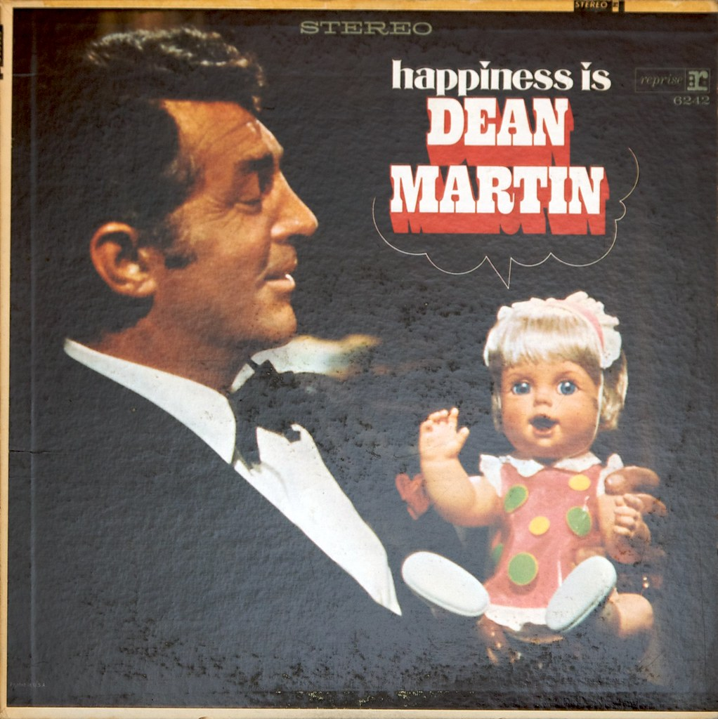 Dean Martin: Happiness Is | Purchase: iTunes or Amazon. | Flickr: https://www.flickr.com/photos/djwudi/4231754621