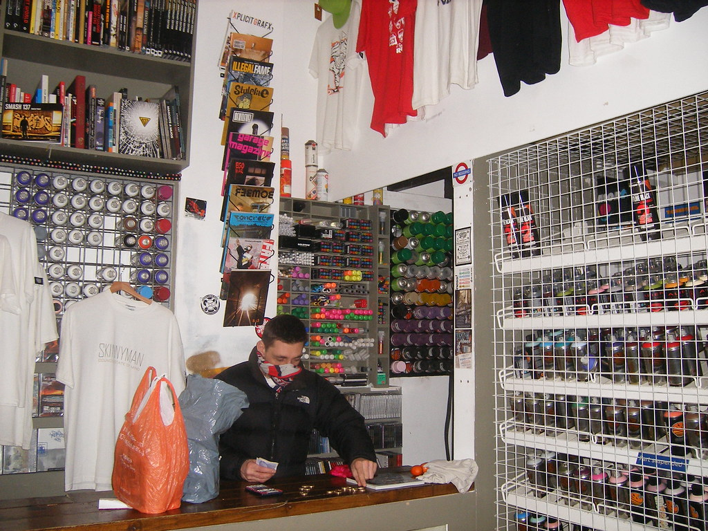 London Graffiti Shop By London Art