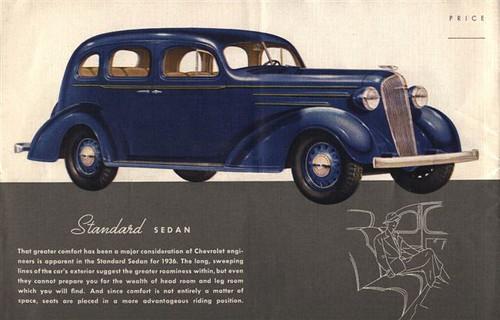 1936 chevrolet standard 4 door sedan us rt 40 flickr for 1936 chevy sedan 4 door