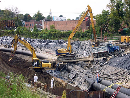 GE Housatonic Superfund project site | by CorpsNewEngland