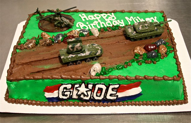 Gi Joe Birthday Cake Ideas