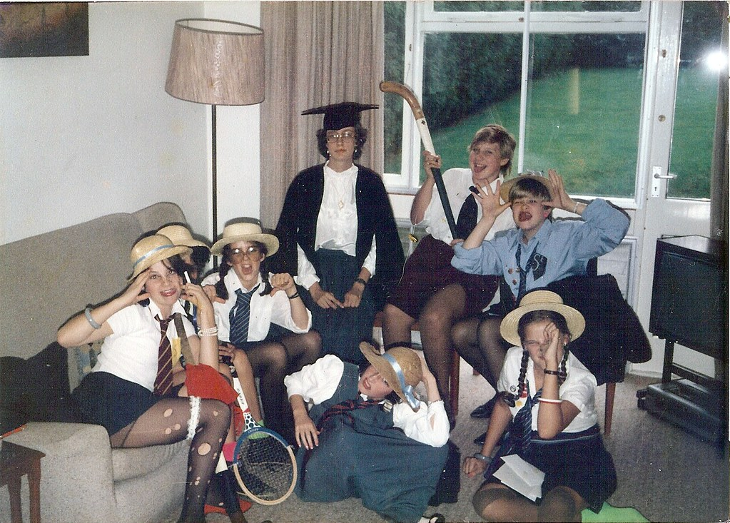 Kate's St Trinians birthday party | I think this must have ...