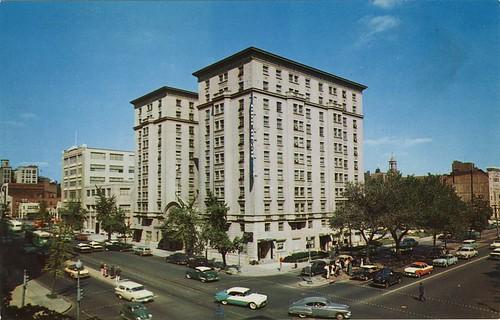 Hotel Hamilton In The 1950s A View Of The Hamilton Hotel