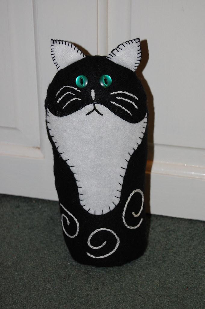 Cat Doorstop From The Wee Folk Art Tutorial Weefolkart