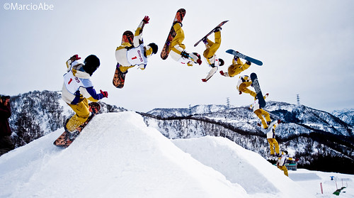 Snowboard - Sequence Photography | by Marcio Abe