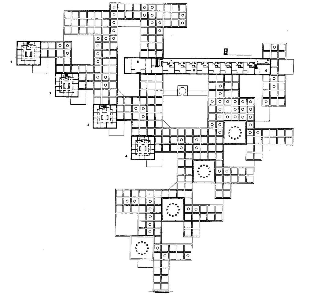 Cluster House Floor Plan Qa792 The Amsterdam Orphanage By Aldo Van Eyck 1960