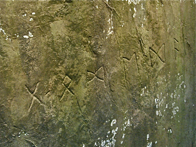 Heavener Runestone | Edited for more clarity. | Laurlyle | Flickr