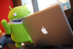 androids eat apples!