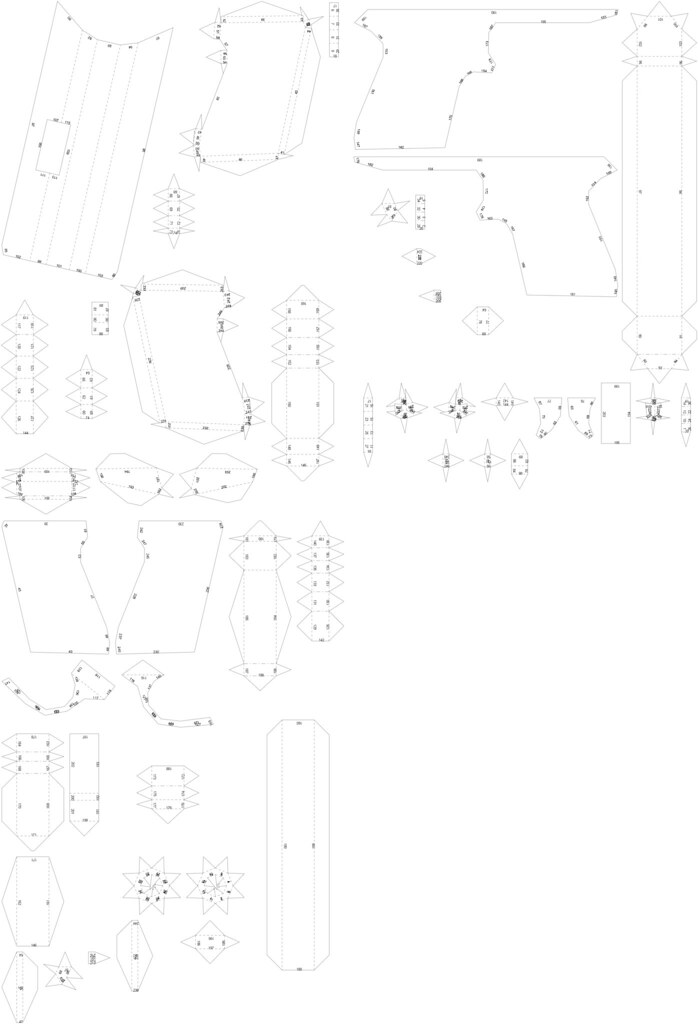 Walther Ppk Papercraft The Plans For My Papercraft Walther Flickr