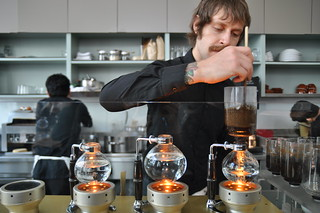 Siphon Pot Coffee @ Blue Bottle | by jonathan mcintosh