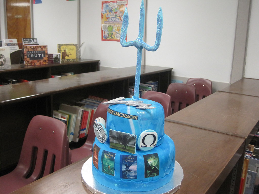 Percy Jackson Cake Lisaquilts Flickr