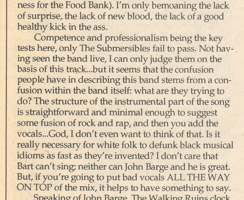 """a confusion within the band itself"" 