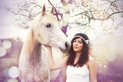 Lili and the horses° | by Floriane Caux