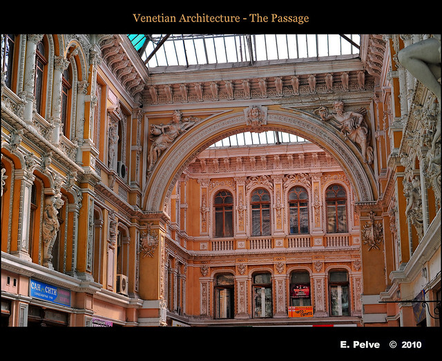 venetian architecture the passage flickr photo sharing