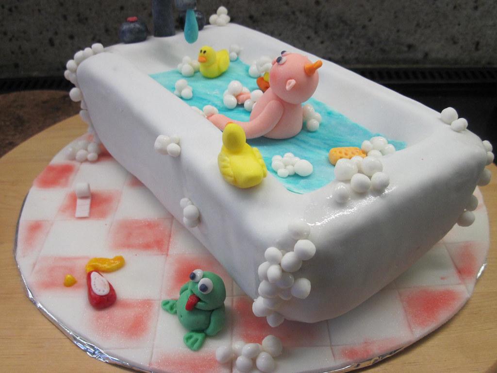 Vasca Da Bagno Retro : Torta vasca da bagno retro marta flickr