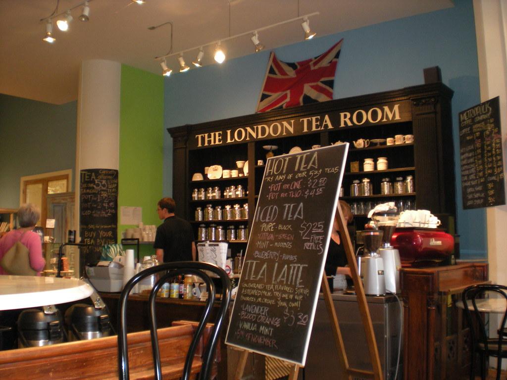 Tea Room St Paul London