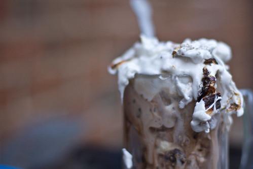 Chocolate Marshmallow Ice Cream Cake