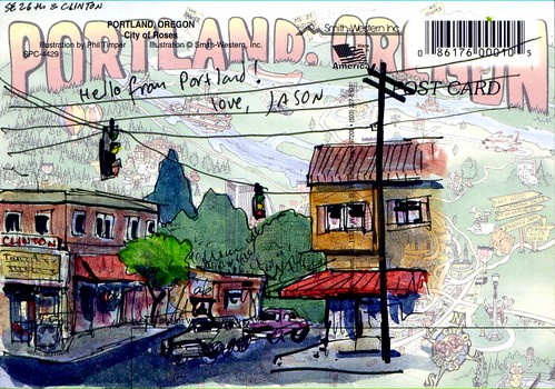 pdx postcards 3 | by Floodfish