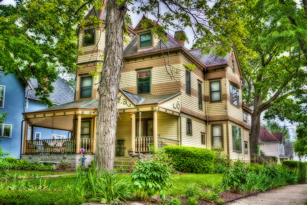 Colonial Homes In Fort Wayne : Queen ann fort wayne is rich in historic houses rick