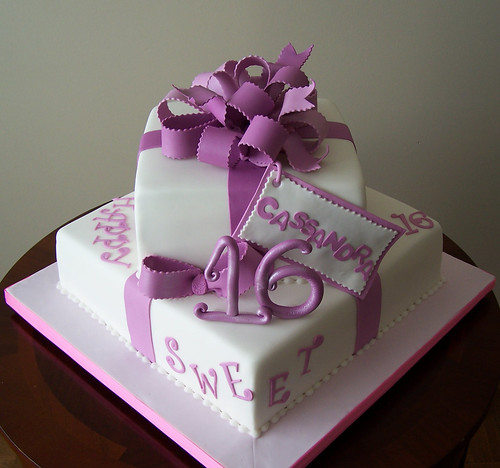 Cake Designs For Sweet Sixteen : Sweet Sixteen cake 12