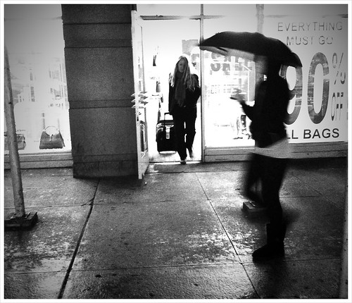 """90% off on Bags, When All She Needed Was an Umbrella"" 