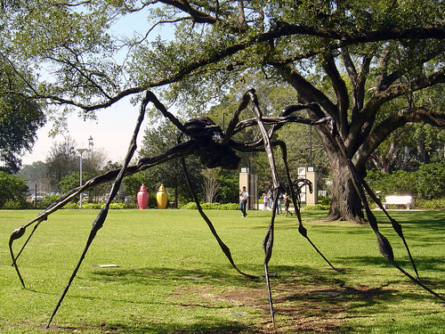 Louise bourgeois new orleans museum of art sydney and wa - Sydney and walda besthoff sculpture garden ...