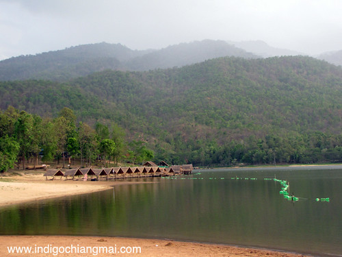 Huay Tung Tao Lake, Chiang Mai  Relaxing by the lake. The ...