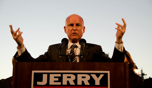 Jerry Brown Oakland rally | by Steve Rhodes