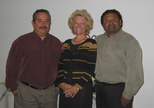 Carmen Smith, Ray and Raudel at Carmen's 2002 Retirement Party | by California State University Channel Islands