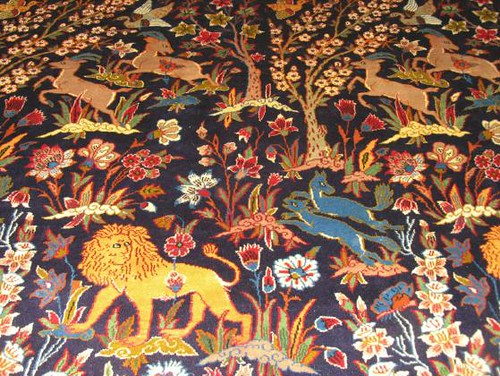 Isfahan Animals Persian Rug Carpetbeggers Persian Rugs