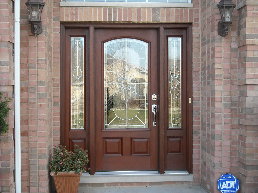 768 #2856A3 Thermatru Entry Door Thermatru Classic Craft Mahogany Entr  image Therma Tru Exterior Doors 39431024
