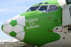 Kulula loves soccer plane, Cape Town International Airport | by flowcomm