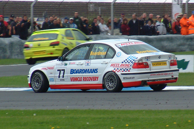 Race Cars Btcc 2002 Bmw 320 Tom Boardman 77 Eden