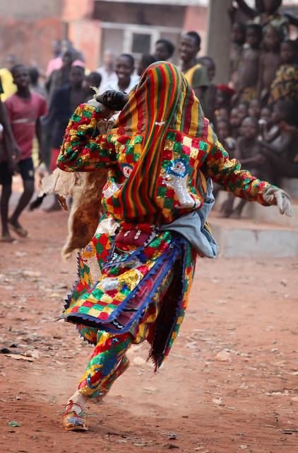 Egunguns in Cové, Benin