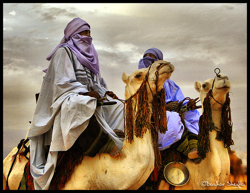 The Blue Men of Sahara ! | by Bashar Shglila