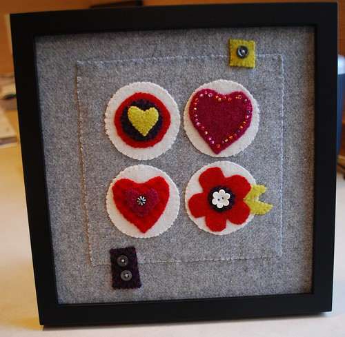 Hearts for Haiti Wool Collage | by stephanielallgood