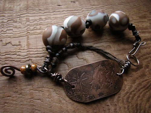 january 2010 ABS - the magpie bracelet | by cindyjean